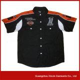 Progettare il breve manicotto per il cliente nero che corre il fornitore della camicia (S40)