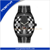 Кожаный wristwatch Psd-2325 полосы вахты швейцарский автоматический