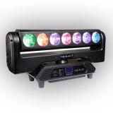 7X15W RGBW farbenreiche LED Pixel-Schaufel-bewegliches Hauptlicht für Stadiums-Beleuchtung-Dekoration