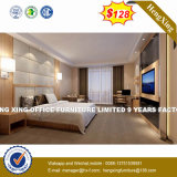 Bedstands (HX-8NR2005)の優雅で白い現代二重寝室の家具