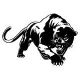 Brennende wilde Leoparden-Jagd-Auto-Karosserien-Abziehbild-Auto-Aufkleber-Motorrad-Dekorationen