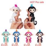 2017년 공장 가격 신제품 크리스마스 선물 전자 지적인 대화식 애완 동물 핑거 애완 동물 원숭이 작은 물고기