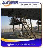 escaleras plegables 3steps para la plataforma terminal petroquímica