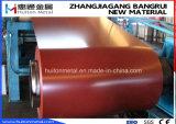 Bobina de acero prepintada bobina de acero de PPGI para el material de construcción