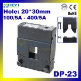 Transformateur de courant de grande précision 20*30mm Dp-23 100/5A - 400/5A type enroulé Cts de faisceau fendu de la classe 0.5