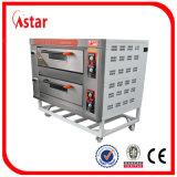 Gaststätte-Gas-Ofen für Verkaufs-Gas-Doppelt-Plattform-Backofen