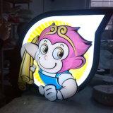 두 배는 LED 가벼운 상자 표시를 광고하는 편든다