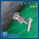 Didtekの火の安全な二重ブロックおよび裁ち切り球弁