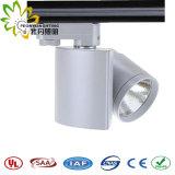 Diodo emissor de luz específico Tracklight do projeto 15W com luz do ponto da trilha da ESPIGA da boa qualidade