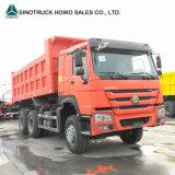 판매를 위한 6X4 30 톤 HOWO 쓰레기꾼 팁 주는 사람 덤프 트럭