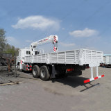 Sinotruk HOWO 6X4 30tonsのトラックによって取付けられるクレーン