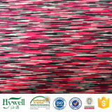 A matéria têxtil de China que faz malha o fio de Lycra tingiu a tela de estiramento de 4 maneiras