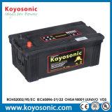 La batería de coche estándar más nueva del funcionamiento 12V 95ah frecuencia intermedia del estruendo