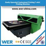 2017 эффективных с точки зрения затрат футболка печатной машины Wer-D4880t