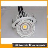 20W luz embutida del punto del techo del cardán de la MAZORCA LED