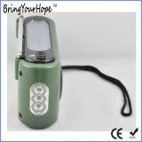 3-LED-Torch FM/Am/Sw Solarkurbel-Dynamo-Radio (XH-FM-016)
