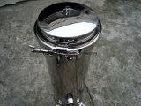 Cárter del filtro micro multi de agua del cartucho del filtro Housing/5 del cartucho del acero inoxidable de SS316 SS304