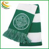 Custom спорта трикотажные шарфы вентилятор глушитель из жаккардовой ткани с логотипом