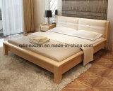 Festes hölzernes Bett-moderne doppelte Betten (M-X2285)