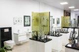 Vaidade de canto lustrosa elevada do banheiro com espelho (PC9090)