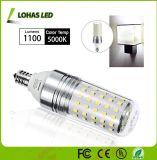 Haute puissance 12W E12 E14 E27 LED Ampoule de maïs