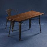 Industrie-Metallmöbel-Kaffee-Tisch-Stuhl stellte für Verkauf ein (SP-CT676)