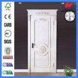 Puerta de talla de madera rústica interior de caoba de las puertas interiores