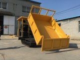 Het hydraulische MiniKruippakje van de Kipwagen van de Carrier van het Spoor van de Kipwagen