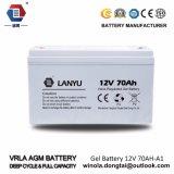 De hete 12V 70ah Batterij van het Gel van het Systeem van de Batterij van de ZonneMacht
