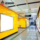 外部の使用法(AF-403)のためのIdeabond 1220*2440mm PVDFのアルミニウム合成のパネル