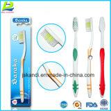 Erwachsene Zahnbürste-Zähne, die persönliche Sorgfalt weiß werden