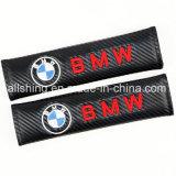 Le carbone de ceinture de sécurité de véhicule de BMW couvre des garnitures d'épaule