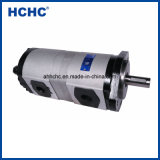 Pompe à engrenage hydraulique double Cbhld pour la machinerie de construction