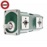 Pompa idraulica di serie della pompa a ingranaggi del doppio della pompa a ingranaggi Hgp11A