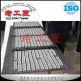 La main de cale de commande numérique par ordinateur de cale usine des cales de carbure de tungstène de pièces