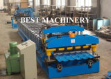 La plupart de roulis en acier populaire en métal de tuile d'opération de modèle formant la machine