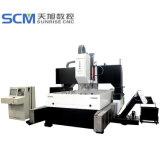Máquina Drilling de alta velocidade do CNC Tphd3016 para placas, folhas de câmara de ar