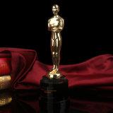 Personalidades Oscar troféu de cristal individual com o logotipo OEM