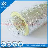 Conducto flexible laminado espiral del animal doméstico del alambre de acero