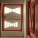 UL Ce 9W 1080LM Slim 2G11, TUBO LED de sustitución de la CFL