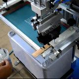 Impresora plana de escritorio de la pantalla de seda con la T-Ranura