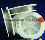 El cable negro de filamento de tungsteno W1 / Wal filamento de tungsteno