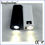 Linterna LED pequeño banco de potencia de 4800mAh (XH-PB-058)