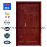 2018耐火性の木製のドア、ドア、火評価される木製のドア、木のドア