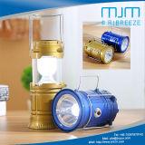 Tubo telescópico de tamanho grande tenda Luz Solar recarregável &Lanterna LED 5900