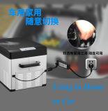 Замораживатель холодильника автомобиля компрессора DC охлаждая