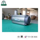 Válvula Borboleta Filmagem Actuators-Real pneumática
