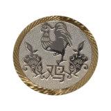 Chinesischer Tierkreis kundenspezifische Goldsilber-Kupfer-Sport-Metallmünze
