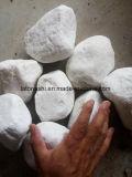 2017 превышения размера чистого белого речного камня для украшения для установки вне помещений