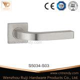 Porte en bois interne en acier inoxydable de poignée de levier (s5009)